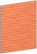 Trendhout | Wandmodule D potdekselplanken | 211x220 cm