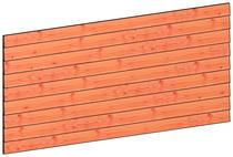 Trendhout | Wandmodule F potdekselplanken | 276x117 cm