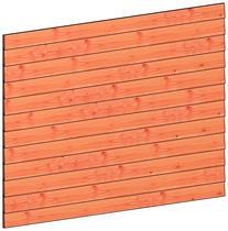 Trendhout | Wandmodule K potdekselplanken | 223x152 cm