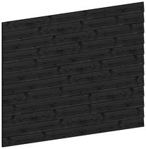 Trendhout | Wandmodule K potdekselplanken zwart | 223x152 cm