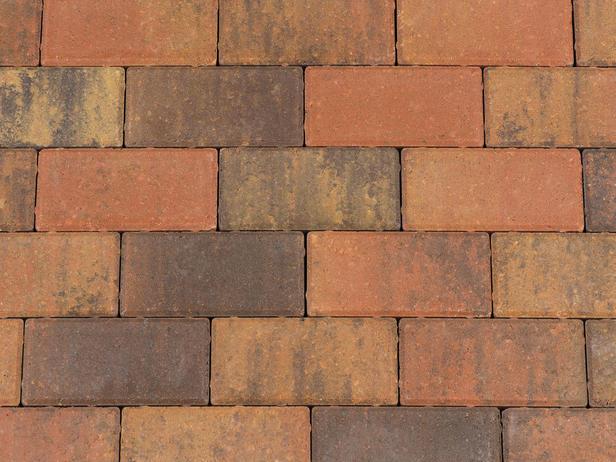 Kijlstra | Halve betonstraatsteen 10.5x10.5x8 | Bruin GV