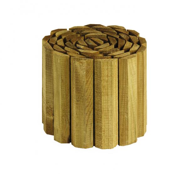 Rolborder Grenen hout 30 x 180 cm