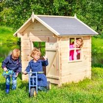 Outdoor-Life Kinderspeelhuisje Naturel - ACTIE
