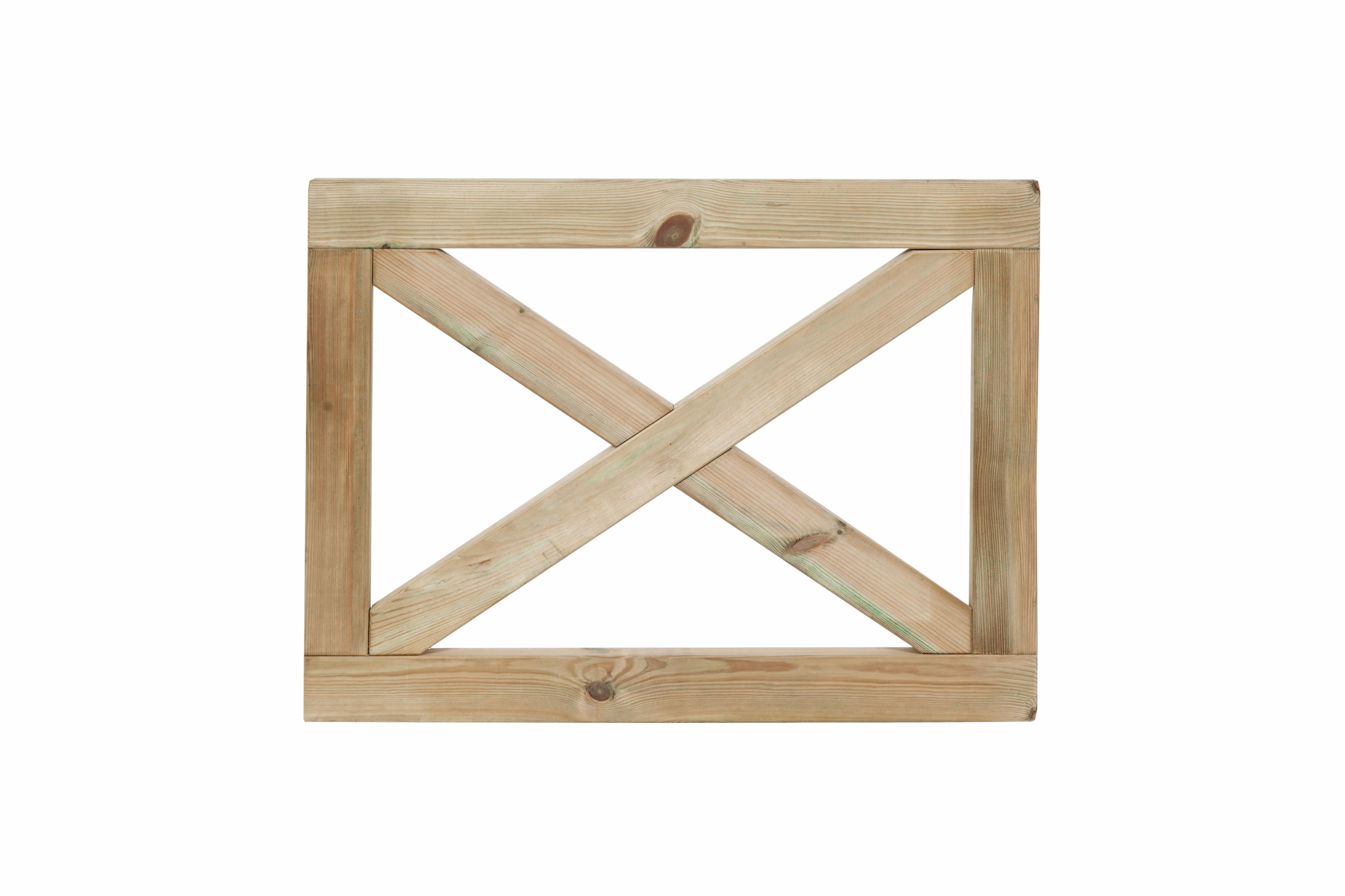CarpGarant | Boerenland kruishek- poort | 75 x 100 cm