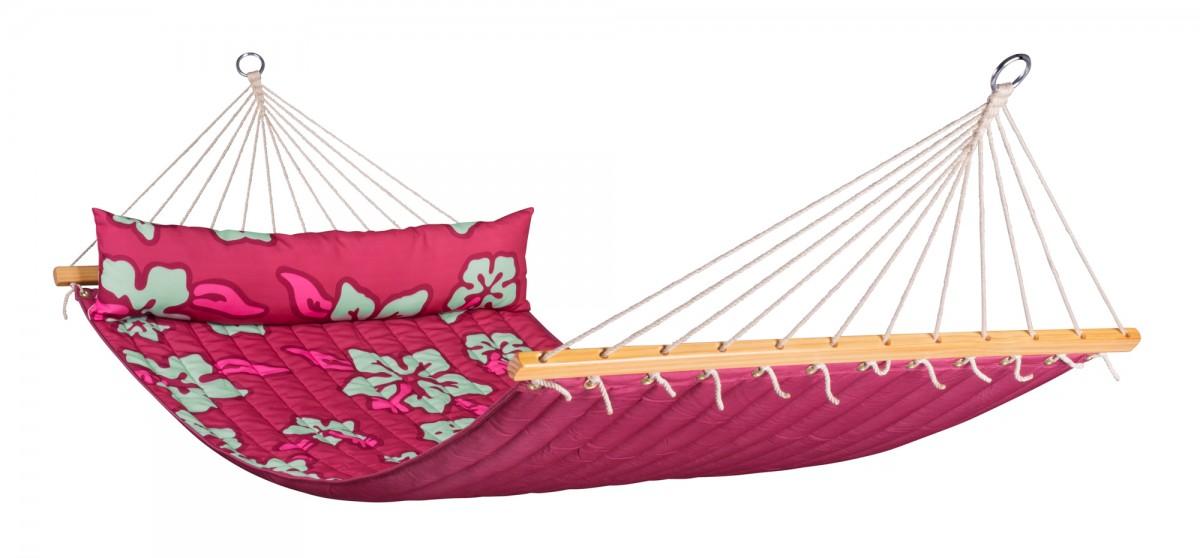 La siesta | Hawaii 2- persoons hangmat | Hibiscus