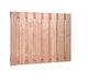 Douglas plankenscherm 18x160pl | sc. | 130 cm