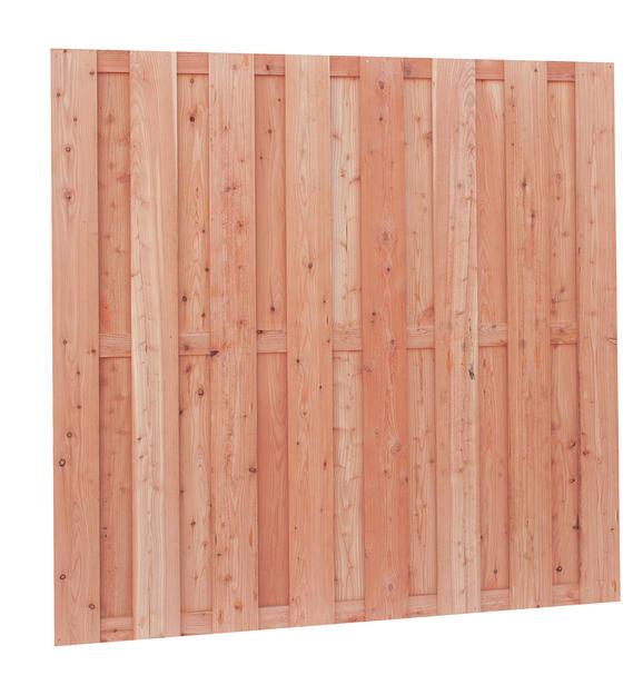 Schuttingscherm Douglas | 15-planks | 180 x 180 cm | Fijnbezaagd