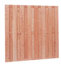 Scherm Douglas fijnbezaagd | 15-planks | 180 x 180 cm