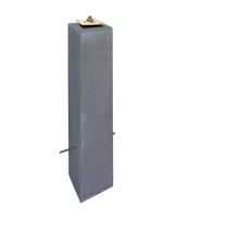 Betonpoer Deluxe | 12x12cm voor paal 10-12 cm