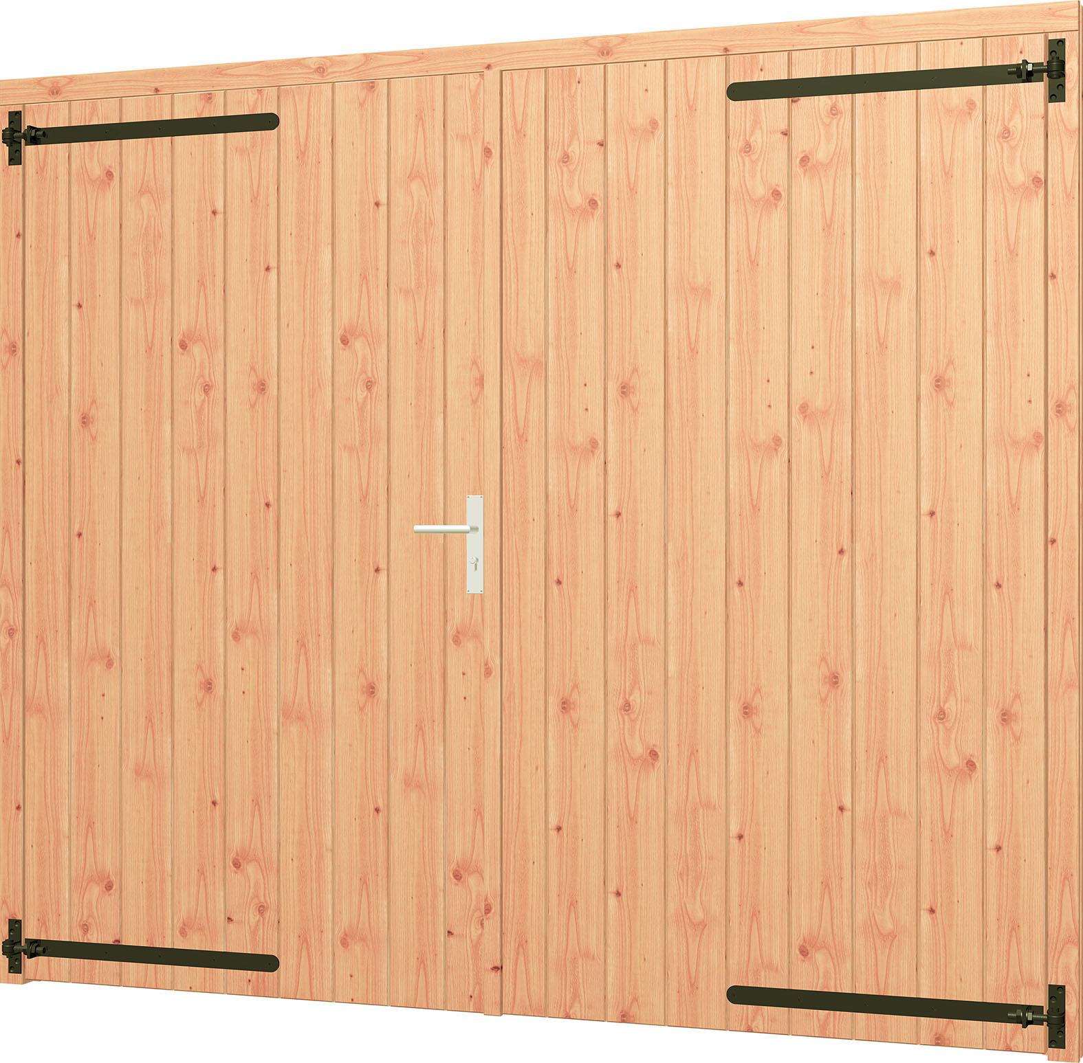 Trendhout   Opgeklampte deur XL dubbel