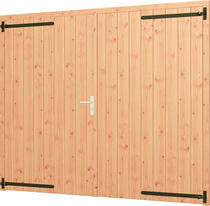 Trendhout | Opgeklampte deur XL dubbel | Onbehandeld