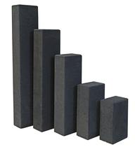 Redsun | Palissade rechthoekig 12x18.5x30 | Antraciet