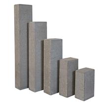 Redsun | Palissade rechthoekig 12x18.5x40 | Grijs