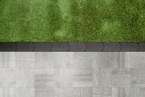 Redsun | Graskantsteen 22x12x4.5 | Antraciet