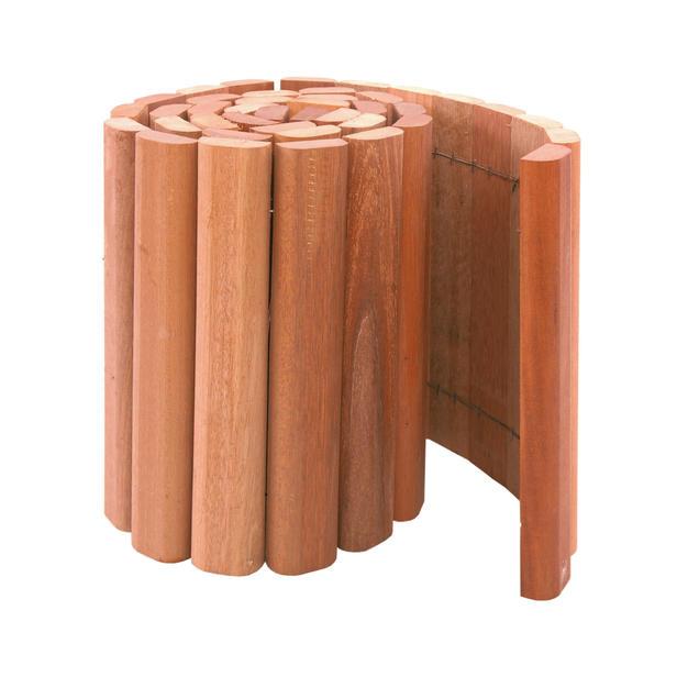 Woodvision   Rolborder hardhout   20 x 180 cm