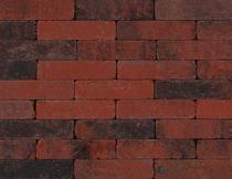 Kijlstra | Waalformaat getrommeld 20x5x7 | Rood/zwart