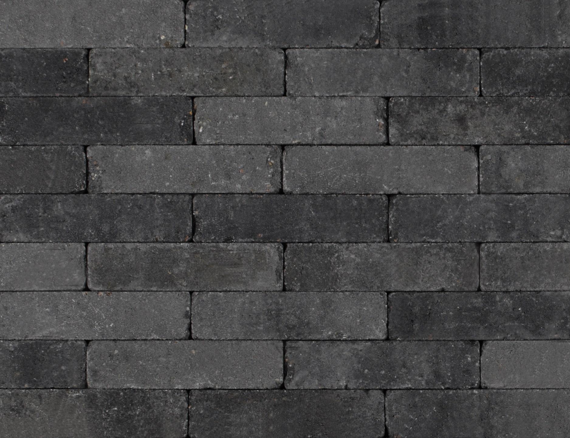 Kijlstra | Waalformaat getrommeld 20x5x7 | Grijs/zwart