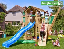 Jungle Gym | Cottage + Boat Module | DeLuxe | Blauw