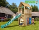 Jungle Gym | Cabin + Playhouse | DeLuxe | Blauw