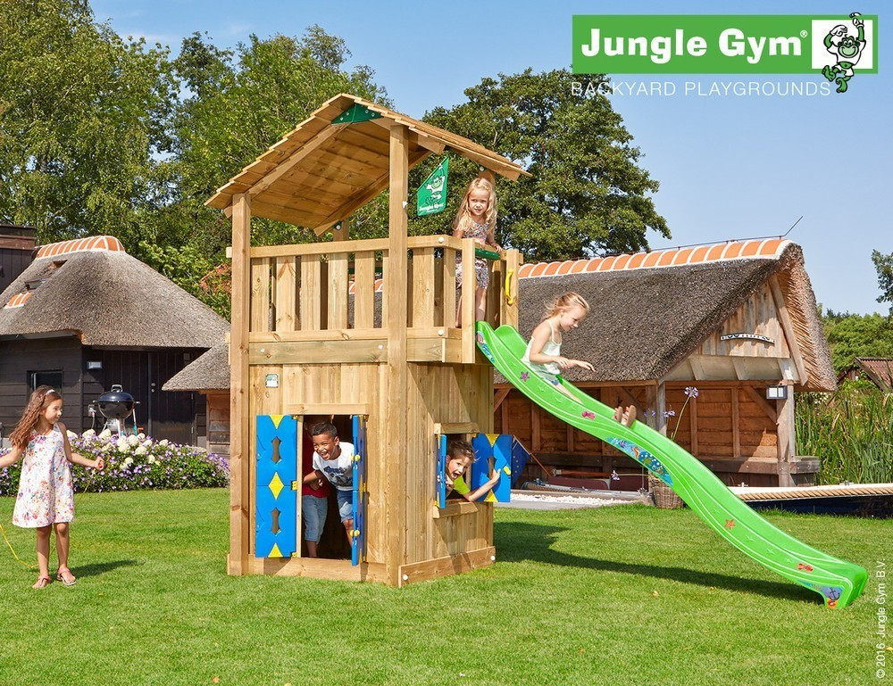 Jungle Gym | Shelter + Playhouse | DeLuxe | Paars