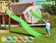 Jungle Gym | Shelter + Playhouse | DeLuxe | Blauw