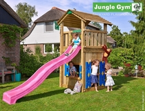 Jungle Gym | Cottage + Playhouse | DeLuxe | Blauw