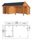 Trendhout | Kapschuur De Stee L 7400 | Combinatie 4