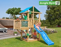 Jungle Gym | Hut + Balcony | DeLuxe | Blauw