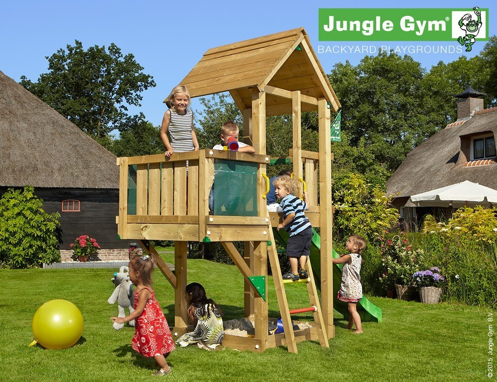 Jungle Gym | Club + Balcony | DeLuxe | Rood