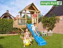 Jungle Gym | House + Balcony | DeLuxe | Blauw