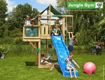 Jungle Gym | Lodge + Balcony | DeLuxe | Blauw
