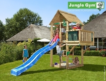 Jungle Gym | Cabin + Balcony | DeLuxe | Blauw