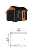 Trendhout | Kapschuur De Deel 4000 mm Combinatie 4