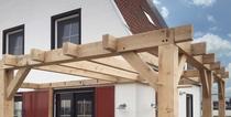 Trendhout | Eiken paal fijnbezaagd 250x250 mm | 500 cm