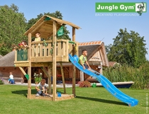 Jungle Gym | Shelter + Balcony | DeLuxe | Blauw