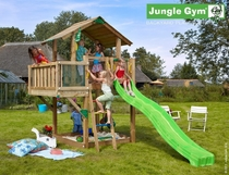 Jungle Gym | Chalet + Balcony | DeLuxe | Blauw