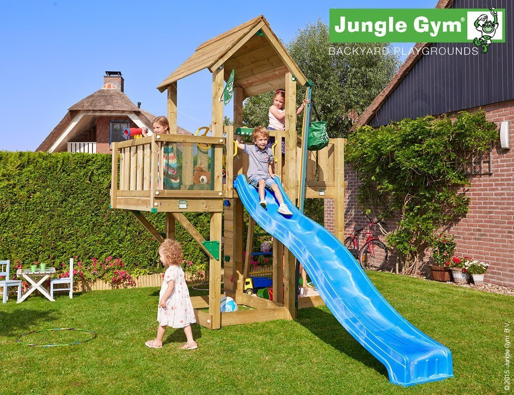 Jungle Gym | Mansion + Balcony | DeLuxe | Rood