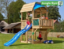 Jungle Gym | Barn + Balcony | DeLuxe | Blauw