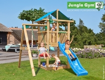 Jungle Gym | Hut + 1-Swing X'tra | DeLuxe | Blauw