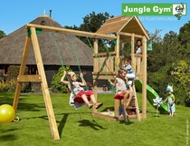 Jungle Gym | Club + 2-Swing X'tra | DeLuxe | Blauw