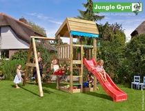 Jungle Gym | Home + 1-Swing X'tra | DeLuxe | Blauw