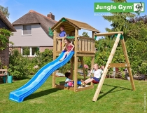 Jungle Gym | Cottage + 1-Swing X'tra | DeLuxe | Blauw