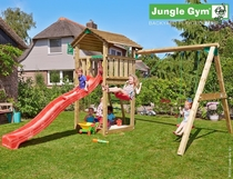 Jungle Gym | Cottage + 2-Swing X'tra | DeLuxe | Blauw