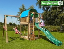 Jungle Gym | Villa + 1-Swing X'tra | DeLuxe | Blauw