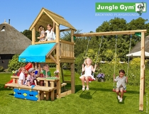 Jungle Gym | Club + Mini Picnic + 2-Swing X'tra | DeLuxe | Blauw