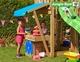 Jungle Gym | Cottage + Mini Market + 1-Swing X'tra | DeLuxe | Blauw