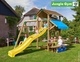 Jungle Gym + Cottage + Mini Picnic + 1-Swing X'tra | DeLuxe | Blauw