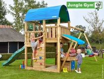 Jungle Gym | Farm + Mini Market + 1-Swing X'tra | DeLuxe | Blauw