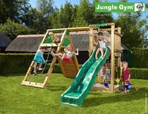 Jungle Gym | Tower + Climb Module | DeLuxe | Blauw