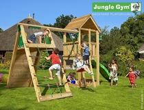 Jungle Gym | Club + Climb Module X'tra | DeLuxe | Blauw